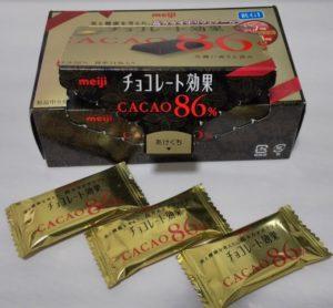チョコレート効果86%